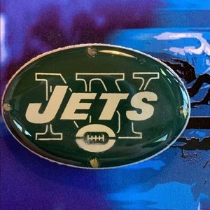 NFL Licensed New York Jets Flashing Pendant Or Pin